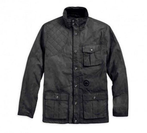 mens chase waxed field casual jacket