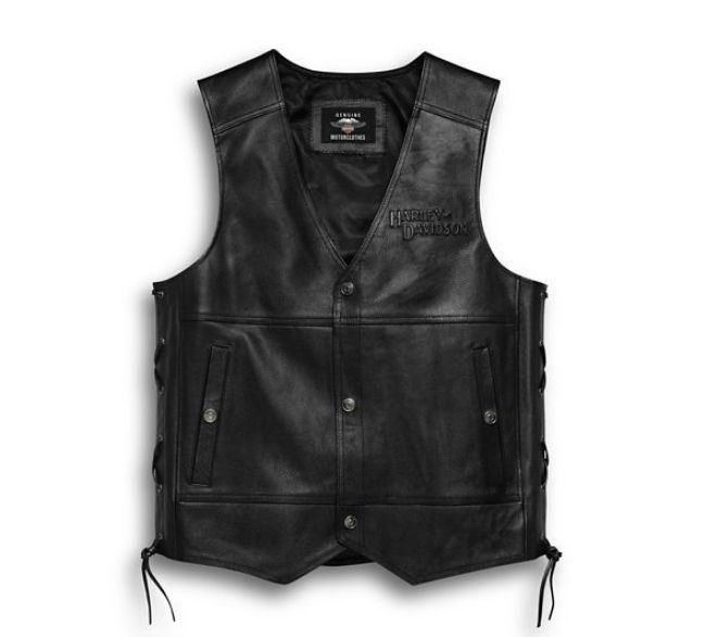 mens leather tradition ii vest