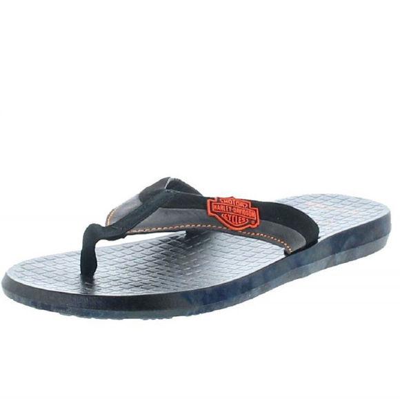 Front view of mens adams summer flip flop