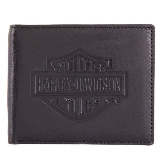 Wallet mens classic bi fold wallet with coin pocket