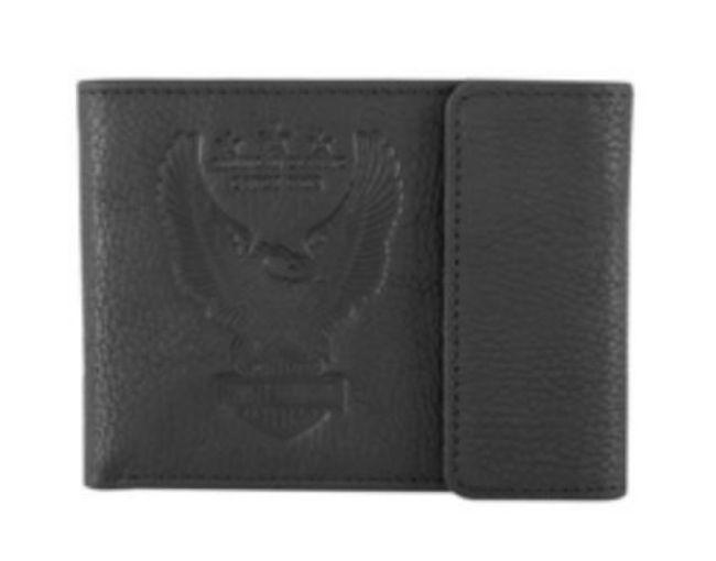 Wallet mens liberty eagle bifold wallet