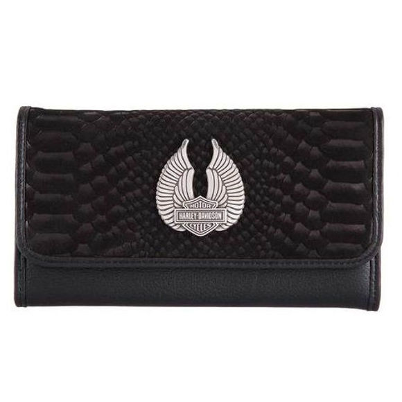 Wallet womens viper venom leather wallet