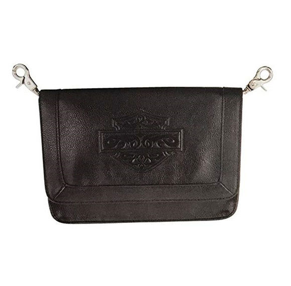 Front view of womens celtic hip pouch