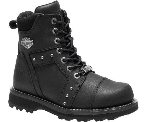 Front view of womens oakleigh casual boot