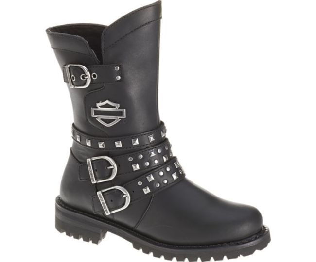 Front view of womens adrian casual boot
