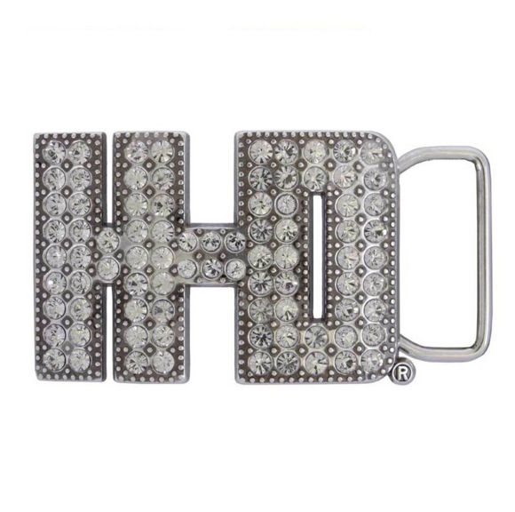crystal h-d buckle