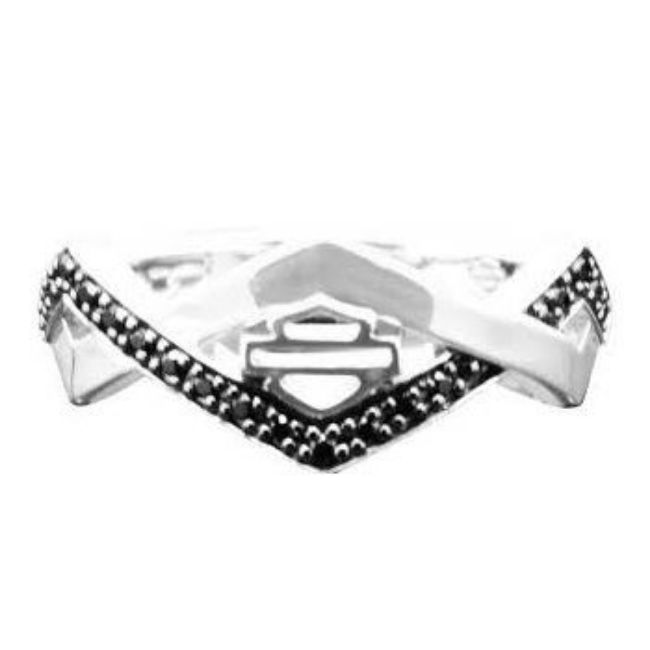 Front view of womens diamond festival ring