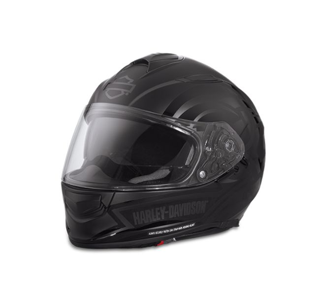 Front view of frill airfit sun shield full face helmet