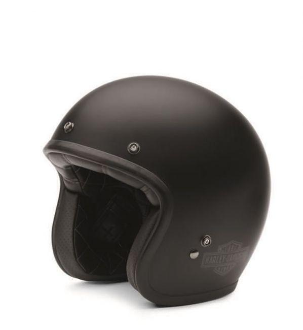 Front view of retro 34 helmet