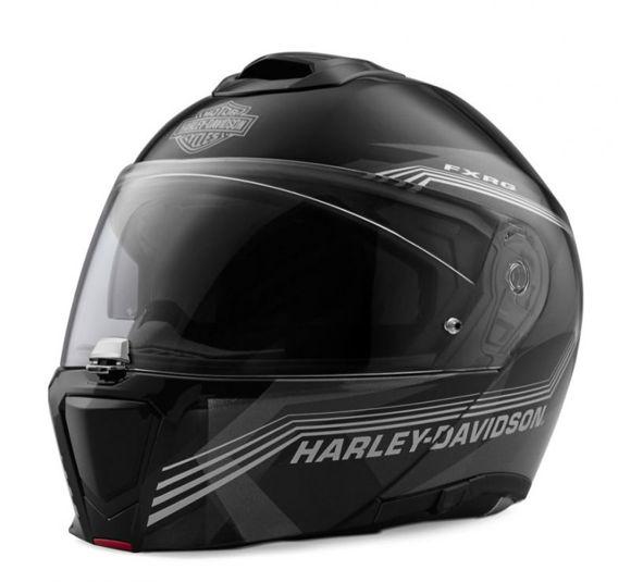 Front view of fxrg sun shield modular helmet
