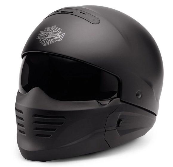 Front view of pilot ii 2 in 1 helmet