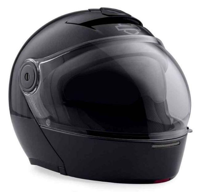 Front view of myer j08 modular helmet black