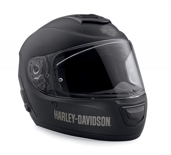 Front view of boom audio n02 full face helmet