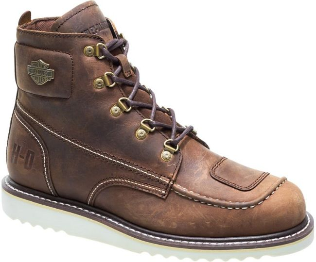 Front view of mens hagerman riding boot