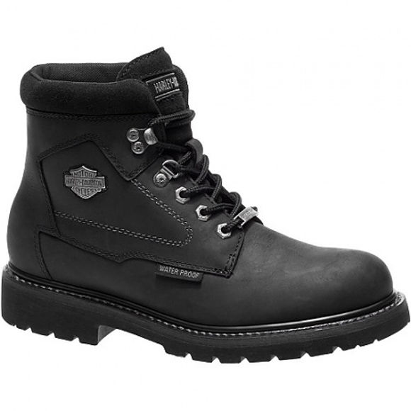 Side mens thurmond waterproof boots black