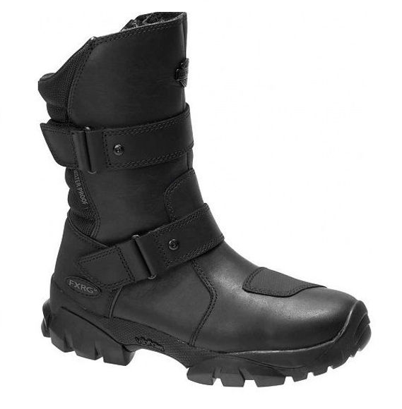 Front view of womens fxrg balfour adventure riding boot
