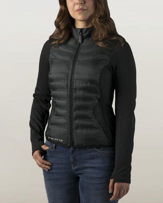 Front view of womens fxrg thinsulate mid layer