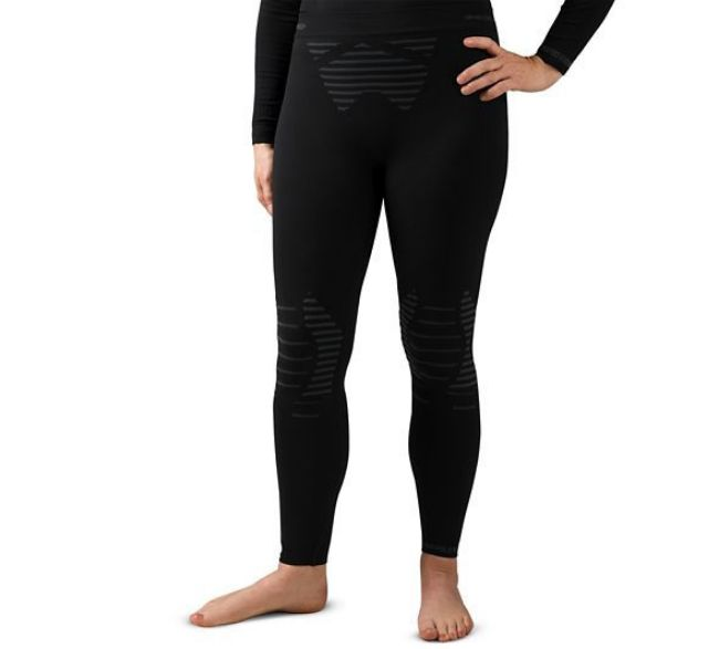 Front view of womens fxrg base layer pants