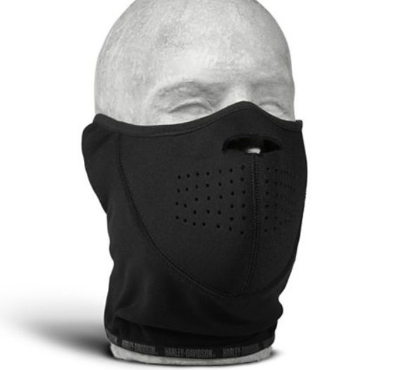 wind-resistant face mask