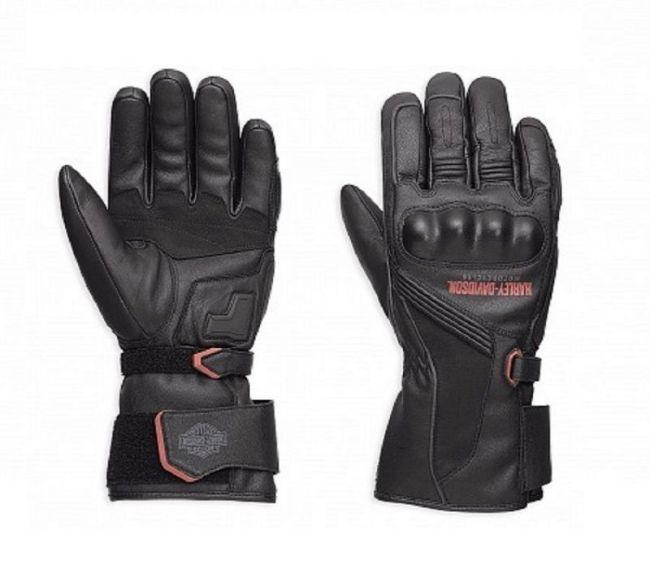 Gloves mens messenger leather gaunlet gloves