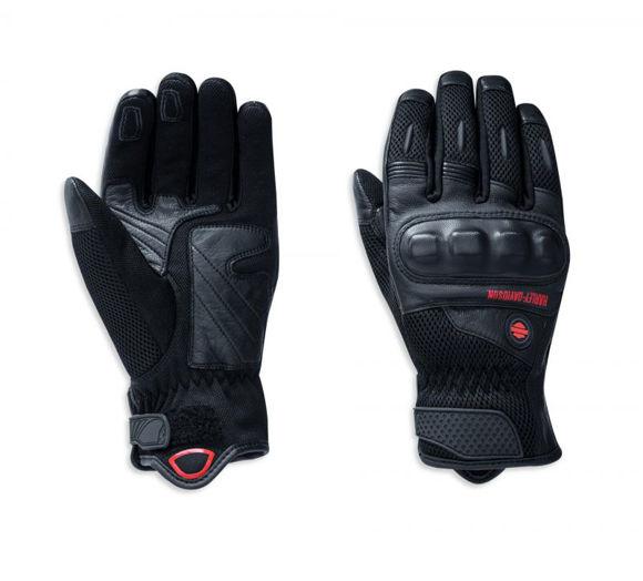 Gloves mens woodcreek leather mesh gloves