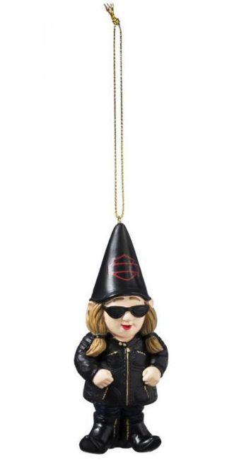 hanging biker gnomette