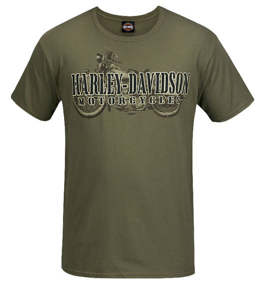 Front view of mens west coast war name dealer t shirt