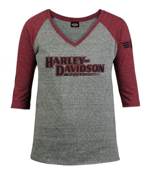 Front view of womens selective 34 dealer t shirt