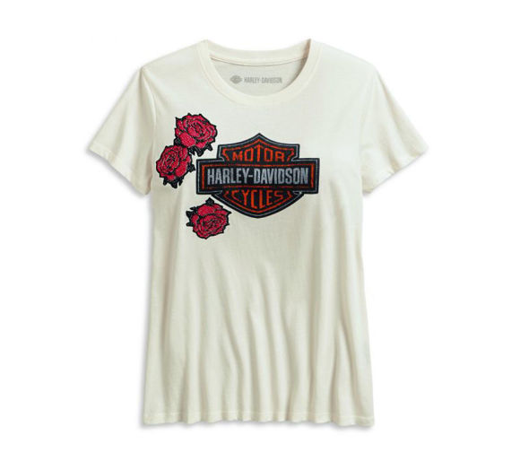 Picture of Women's Roses And Logo Tee
