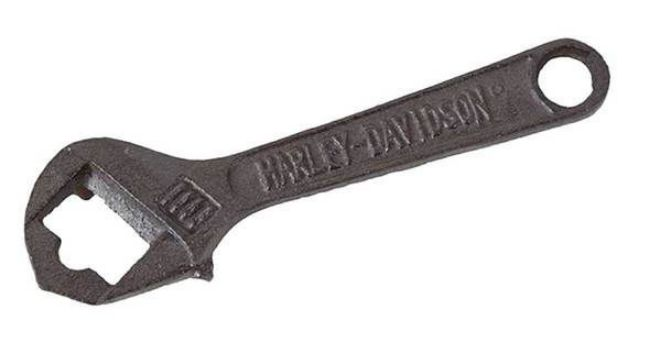 Front view of wrench bottle opener