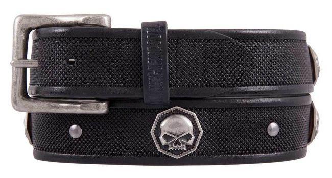 mens uncaged genuine leather belt