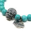 Picture of Turquoise Sugar Skull Bracelet