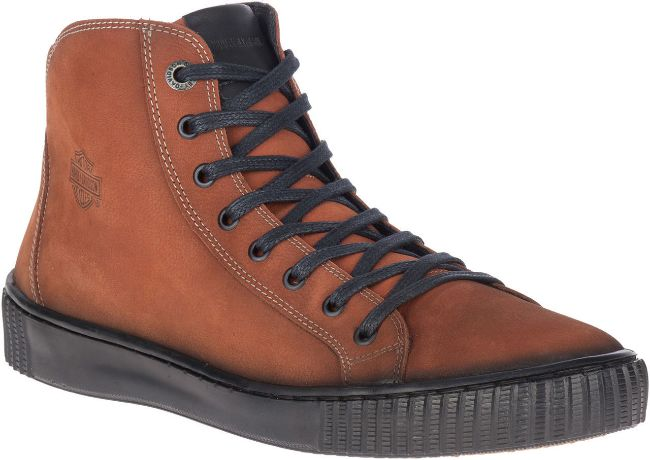 Picture of Men's Barren Rust Leather Shoes