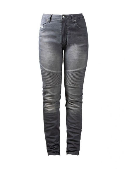 Picture of Women's Betty Biker Jeans with XTM-Fiber - Grey