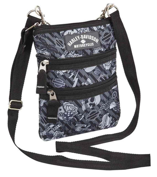 Picture of Women's Tattoo Grey Sling Purse