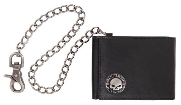 Picture of Men's Skull Concho Z Wallet