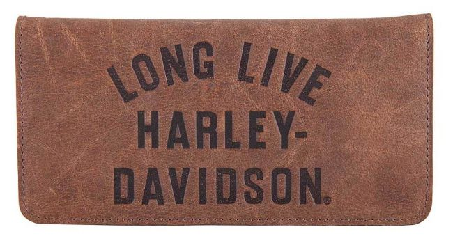 Picture of Men's Long Live Leather Trucker Wallet
