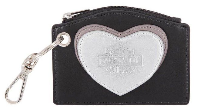 Picture of Women's Heart Leather Coin Purse