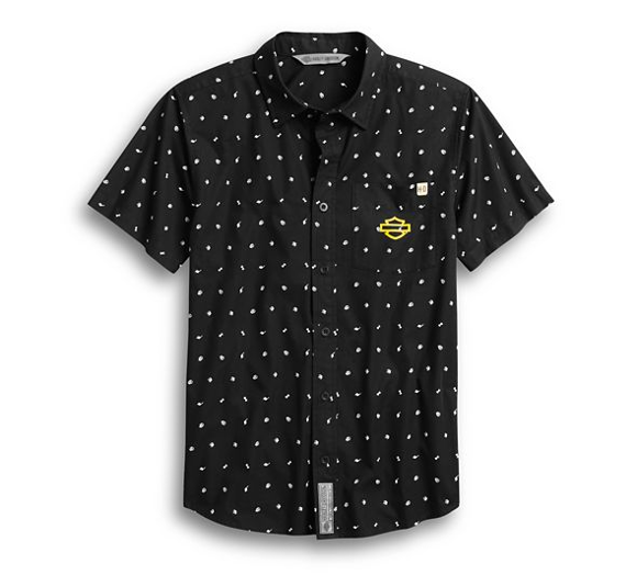 Picture of Men's Allover Print Slim Fit Shirt