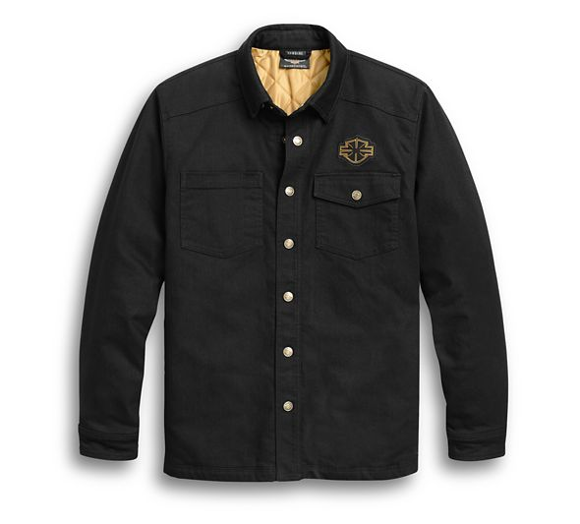 Picture of Men's Skull Wing Shirt Jacket