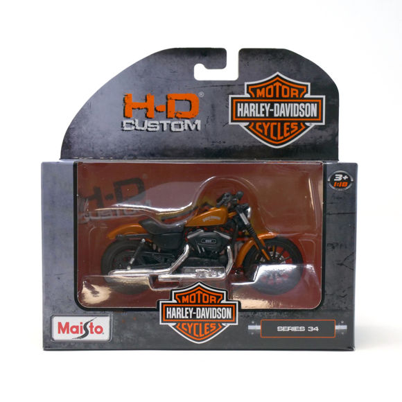 Picture of 2014 Sportster Iron 883 1:18 Model