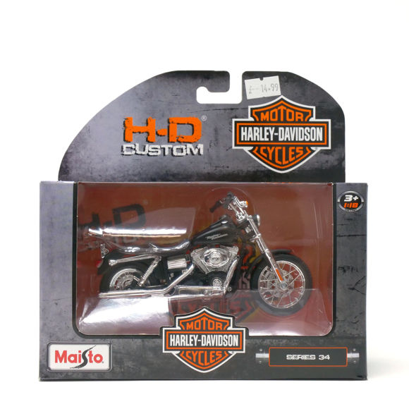 Picture of 2006 Dyna Street Bob 1:18 Model