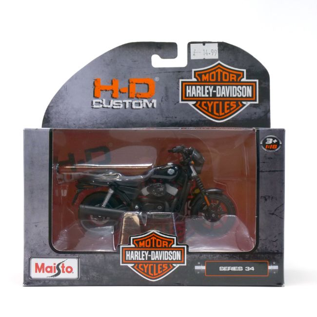 Picture of Street 750 1:18 Model - Black
