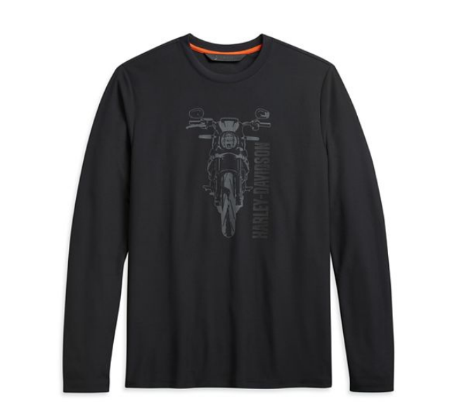 Picture of Men's Slim Fit Motorcycle Graphic Slim Fit Tee