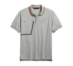 Picture of Men's Slim Fit Zipper Pocket Slim Fit Polo