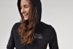 Picture of Women's Black Knit Hoodie