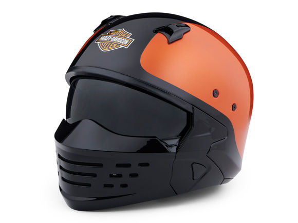 Picture of Sport Glide 2-in-1 Helmet - Orange and Black