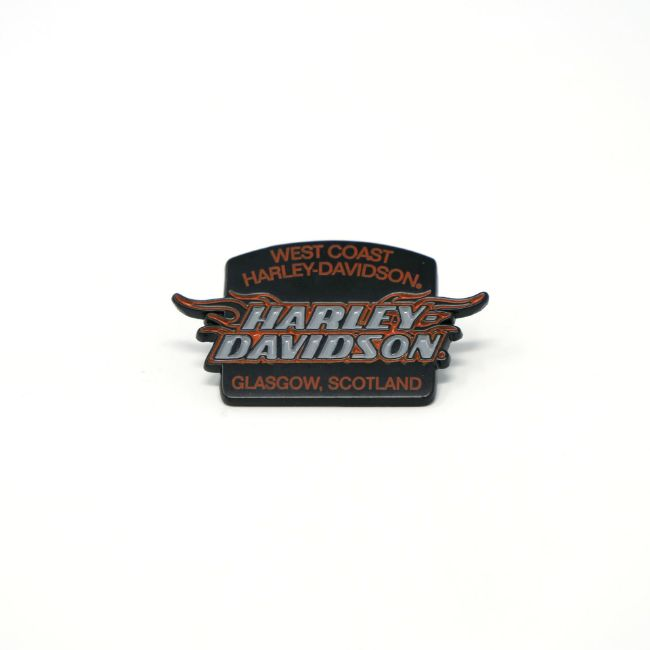 Picture of Dealer Pin with Flames