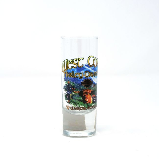 Picture of Dealer Shot Glass - Highland Cow
