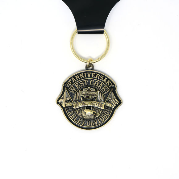 Picture of 20th Anniversary Key Ring